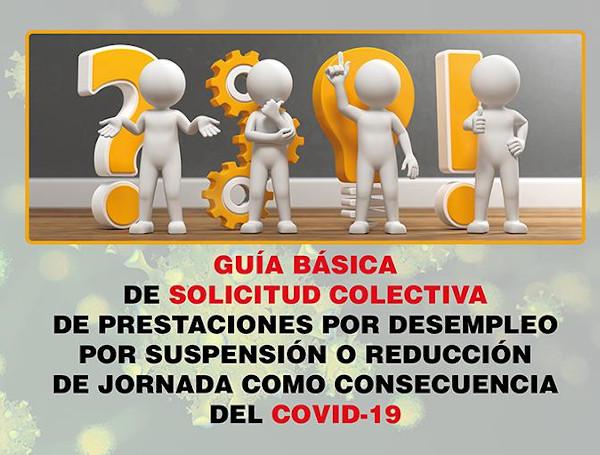 Guía básica del trámite de solicitud colectiva de prestaciones