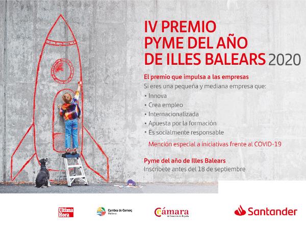 56 empresas optan al Premio Pyme del Año Illes Balears