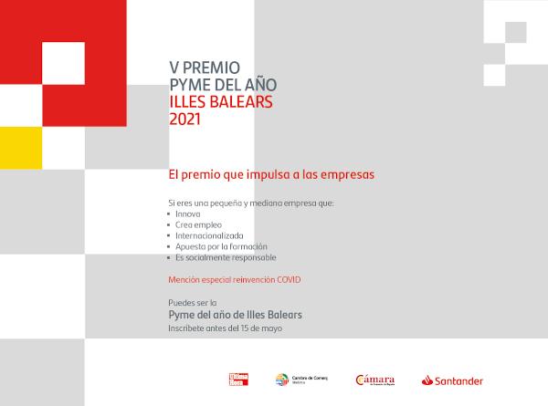 V edición del Premio Pyme del Año de Illes Balears
