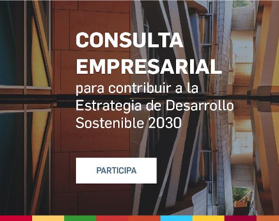Encuesta empresarial Estrategia de Desarrollo Sostenible 2020-2030