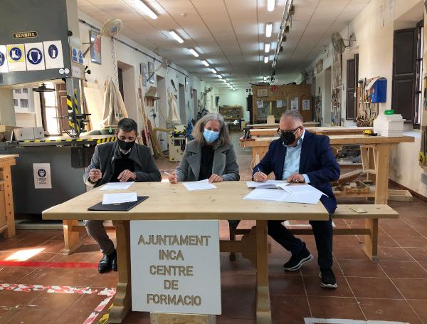 Colaboración para impulsar la formación en el sector de la madera