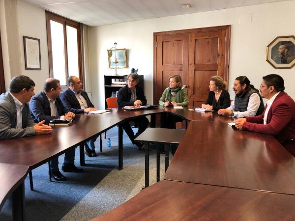 Visita institucional de representantes electos y sectoriales de Guatemala