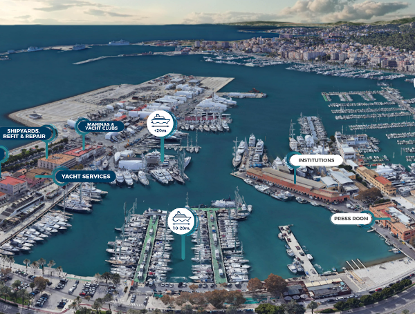 100 expositors confirmats en la segona edició de Balearic Yacht Xou