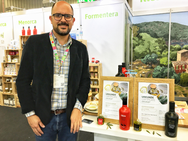 La empresa mallorquina Olíric, reconocida en Biofach