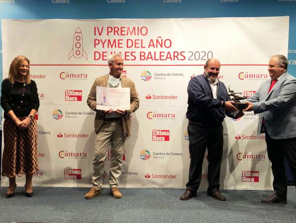 Escuela Universitaria ADEMA, Pyme del año 2020 de les Illes Balears