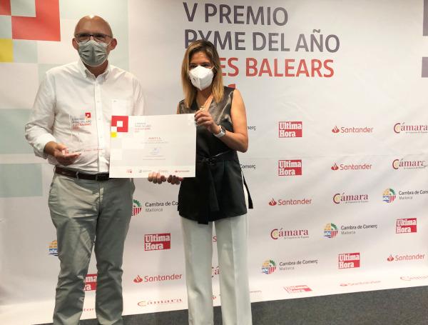 Robot SA, Premio Pyme del Año Illes Balears 2021