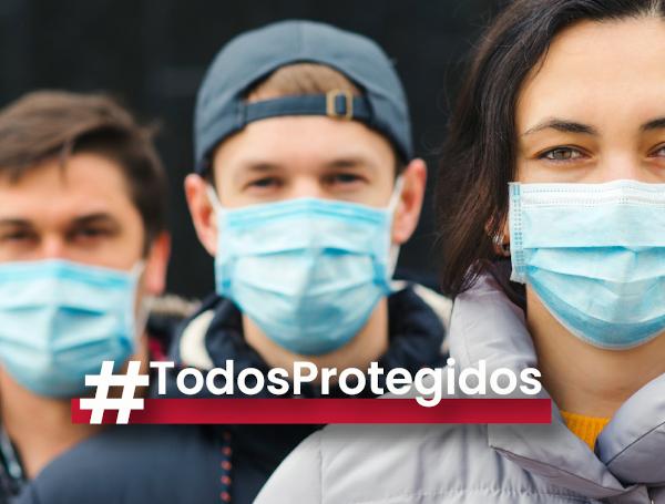 Nace #TodosProtegidos, una plataforma para ofertar material de protección